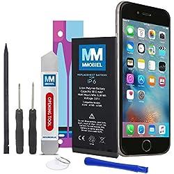 MMOBIEL Batterie Compatible avec iPhone 6 Li-ION 3.8v 1810 mAh 6.9 Wh + Instructions et Kit d'Outils Inclus