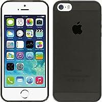 Custodia in silicone per il Apple iPhone 5 / 5s / SE in Slimcase grigioPrecisione di taglio Questa custodia in silicone per il Apple iPhone 5 / 5s / SE durevole protegge il Suo Smartphone affidabilmente per molto tempo. Il cover per il Apple ...