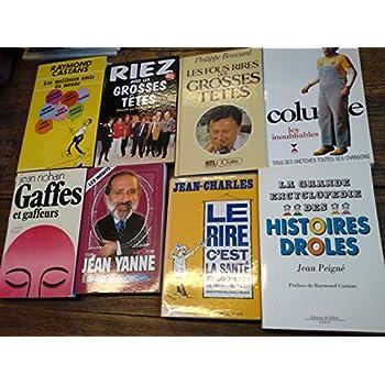 Lot de 28 livres humoristiques , histoires drôles , blagues , humour
