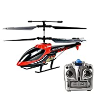 VATOS Remote Controlled Helicopter, 3.5 Channel Infrared, with Integrated Gyroscope for Stability, Helicopter Indoor Toy for Children from VATOS