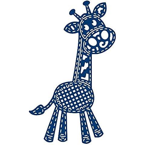 Tattered Lace Patchwork Giraffa, Argento