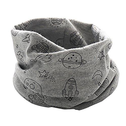 ➤Refill➤Halstücher für Baby-Jungen & Mädchen,Baumwolle Schal O Ring Hals Baby Schals Herbst Winter Kinder Baumwollschals Warme Schals Loop schal Hals Wärmer (0-22 Years Old) -