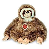 """Teddy Hermann 923275"""" Sloth Soft Toy, 26 cm"""