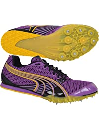 Puma–Complete TFX Distance 3picos de running, color Purple, Yellow, tamaño 9.5UK