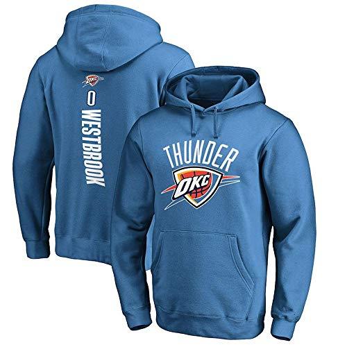 NBA Hoodie Oklahoma City Thunder Russell Westbrook Basketball Student Sport Top Langarm Kapuzenpullover Lose Sweatshirt T-Shirt -