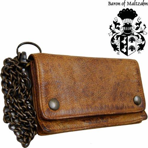 barone-di-maltzahn-portafoglio-con-catenella-carnegie-marrone-in-cuoio