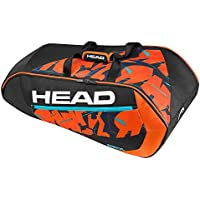 Head Radical 9R Supercombi BKOR - Raquetero, Color Negro/Naranja / Blanco, Talla única