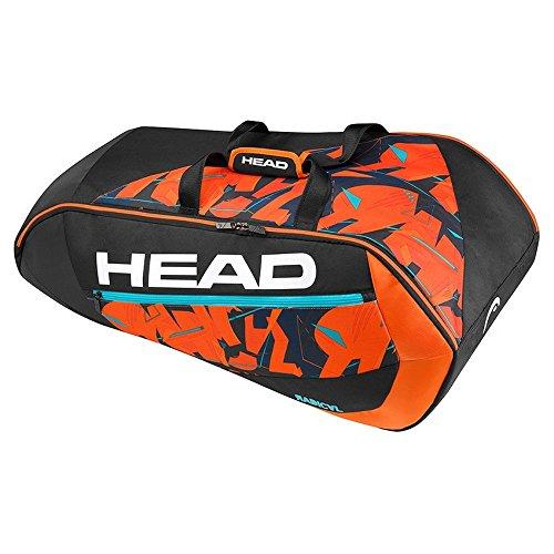 HEAD Radical 9R Supercombi Schlägertasche Schwarz, 68 x 40 x 20 cm