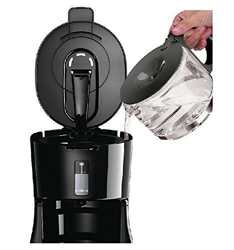 FJ Machine à Café Automatique Automatique 0.6l Anti-égouttement Automatique,Noir