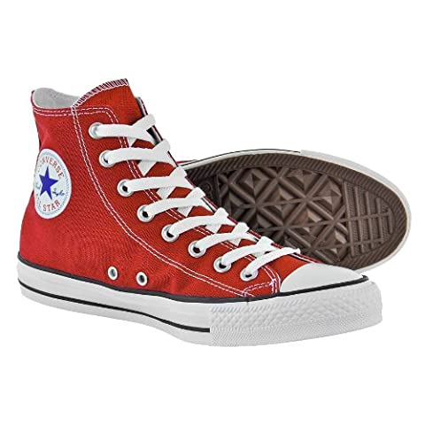 Converse All Stars Classic High Top Boot (Red/White) - (5 UK)