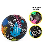 Optimal Street Football Ballon, Mixte, Street, Multicolore, Size 5