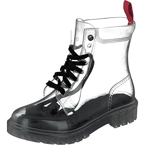 GOSCH SHOES Damen Boots Schuhe Stiefel Wasserfest durchsichtig7105-150-0 in PVC (38)