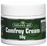 Natures Aid Comfrey Cream, 50g (Knitbone sfregamento crema, naturale, con aggiunta Allantoina, adatto per vegetariani, made in the UK)