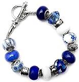 Best Cousin Bracelets - Cousin 34699713 16 Piece Large Hole Flower Bead Review