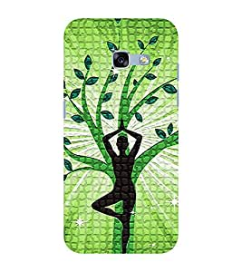 Babula Designer Back Case Cover for Samsung Galaxy A3 (2017) (Boy Boys Man Women Girl Girly Type Printed Cell Phone Cases, Trendy Latest Best Cute excecise refresh Mobile Phone Cases ( Cell Phone Accessories ), divine refresh peace mind fresh Designer Art Pouch Pouches Covers, Low Price Best Quality Latest Customized Cases & Covers, Artistic Awesome Best Cute Trendy Smart Phone Covers , Phone Back Case Covers)