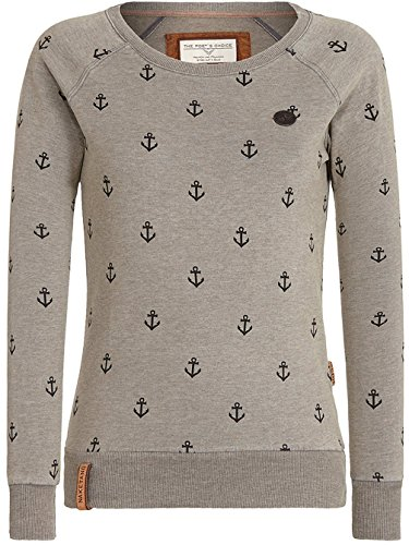 Naketano Damen Sweater Love Is A Trip Sweater