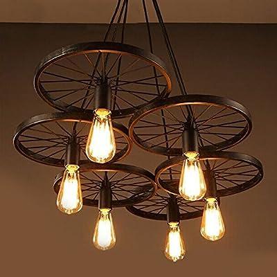 4 Packung Vintage Beleuchtung, VSOAIR LED Birnen mit 6W ST64 Vintage Edison Dimmable Birne Beleuchtung Warm White 2700K Leuchtstofflampe