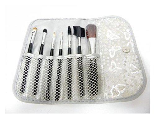7 Teile MAKE-UP Pinsel Schminkpinsel Brush Lippen Augenbrauen Wimpern Makeup