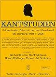 Kant-Studien  Bild