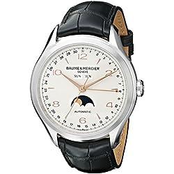 Baume & Mercier - Reloj de pulsera hombre, plata