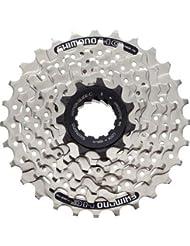 Shimano ECSHG417128 - Cassette para bicicleta, 11 - 28 dientes, 7 velocidades