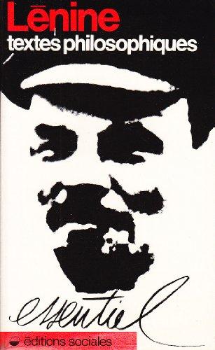 Descargar Libro Textes philosophiques de Lénine