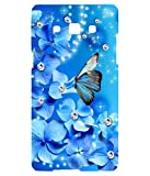 Hamee Designer 3D Printed Hard Back Case / Cover for Samsung Galaxy J5-6 / J5 (2016) Butterfly