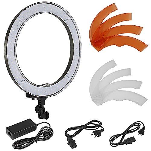 Neewer Kamera Foto SMD LED-Ringlicht für Video, Porträt und Fotografie Beleuchtung, 18