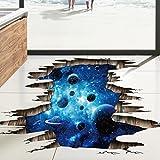 DOLDOA Wandtattoo,Boden Wand Aufkleber entfernbare Wandabziehbild Vinyl Kunst Wohnzimmer (60cm * 90cm/23.62 * 35.43., A)