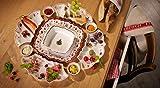 Villeroy & Boch Toy's Delight Dip-Schälchen, Premium Porzellan, Weiß/Rot