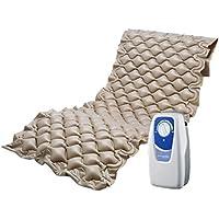 Colchón antiescaras con compresor Mod SY200 | Prevención definitiva llagas en la piel | PVC y material ignífugo | Peso hasta 100 kg | Fácil limpieza | Kit de reparación incluido
