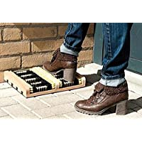 Heavy Duty Double Shoe Boot Scraper Outdoor Mat