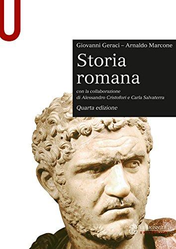 STORIA ROMANA - Edizione digitale: Quarta edizione