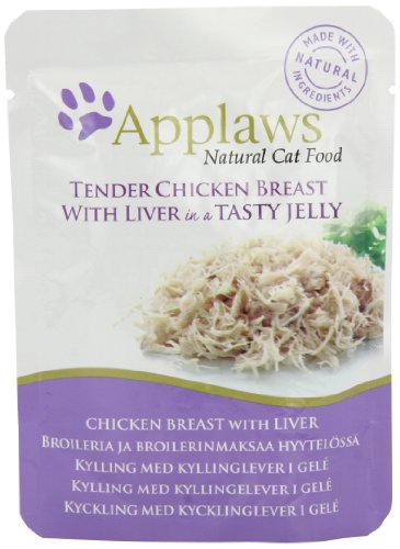 Applaws Cat pouch tuna wholemeat in jelly, Beutel, 1er Pack (1 x 1.12 kg) Preisvergleich