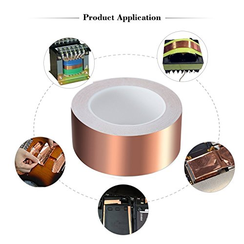 TapeCase 1183 2 x 10.5-25 Silver Width: 2 2 x 10.5 Rectangles Length: 10.5 2 x 10.5 Rectangles Length: 10.5 Width: 2 Pack of 25 Pack of 25 Tin-Plated Foil with Conductive Adhesive-Converted from 3M 1183 Tin//Copper//Acrylic Adhesive