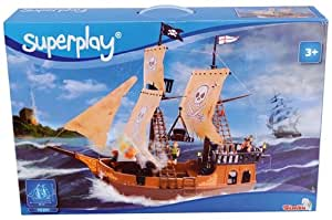 Superplay Bateau de Pirate 64cm