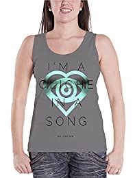 All Time Low Tricot de Corps band logo Cliche future hearts Femme Skinny Fit Top