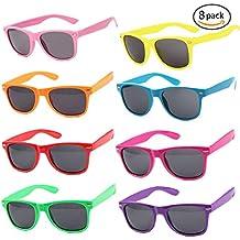Tolle Spielzug Neon Farbig Party Sonnenbrillen-12 (D231) uTTob