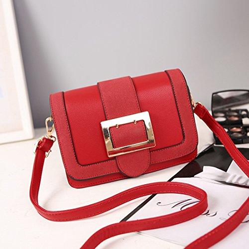 Weibliche Schulter Messenger Bag Mode-Paket Rot