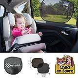 Vuoi tenere il bambino e il bambino fresco e confortevole in macchina e protetta dai raggi UV nocivi nel modo più sicuro possibile? Se siete alla ricerca di sfumature auto da sole o persiane auto per i bambini, non cercate oltre! Queste tonal...
