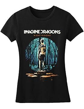 Imagine Dragons-Maglietta a maniche corte, con disegno