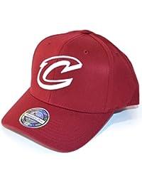 Mitchell   Ness Uomo Cappellini   Snapback Cap The Burgundy 2-Tone NBA  Cleveland Cavaliers e271ad51d21f