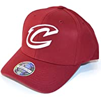 974f2fa5787 Mitchell   Ness Men Caps Snapback Cap The Burgundy 2-Tone NBA Cleveland  Cavaliers