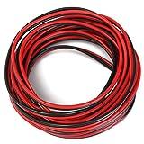 Alamor 5M Altoparlante Cavo Wire Veicoli Home Stereo Hifi Audio