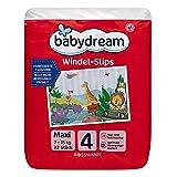 babydream Windel-Slips Maxi 22 Stück Größe 4, 7-15 kg, Tag- & Nachtsicher, optimale Bewegungsfreiheit, verbesserte Saugkraft, kinderleichtes An- & Ausziehen
