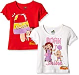 #6: Chhota Bheem Girls' T-Shirt (Pack of 2)