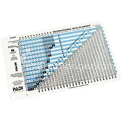 Padi Table de plongée Classique RDP - VF