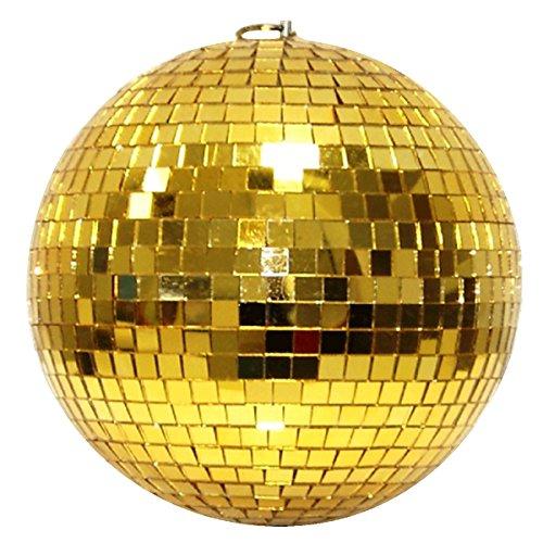 Bola de espejo de 10cm Oro//bola de discoteca–mirror ball 10cm Oro
