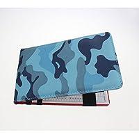 Crestgolf fantástico camuflaje color para tarjeta de puntuación de Golf titular, nuevo diseño, Camouflage color-blue