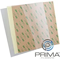 PrimaCreator PF-PEIU-114x114-05 PEI Ultem Sheet, 114 mm x 114 mm, 0.2 mm with 3M 468MP Tape - ukpricecomparsion.eu